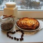 Субботний пирог с яблоками