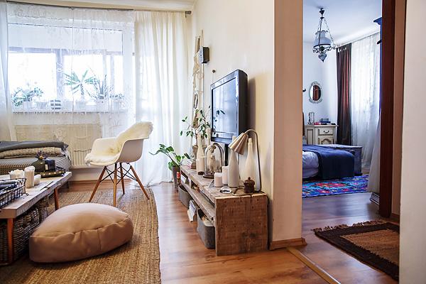 Квартира с элементами скандинавского стиля