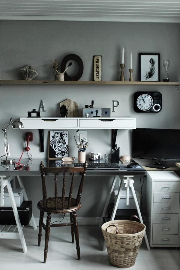 Дом в Швеции. Мастерская