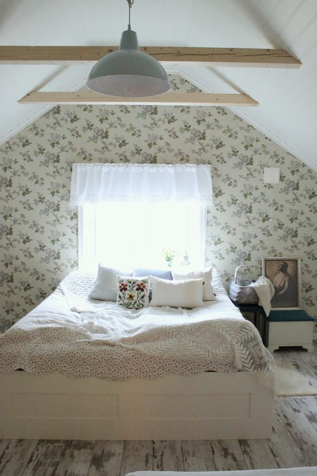 Дом в Норвегии. Спальня