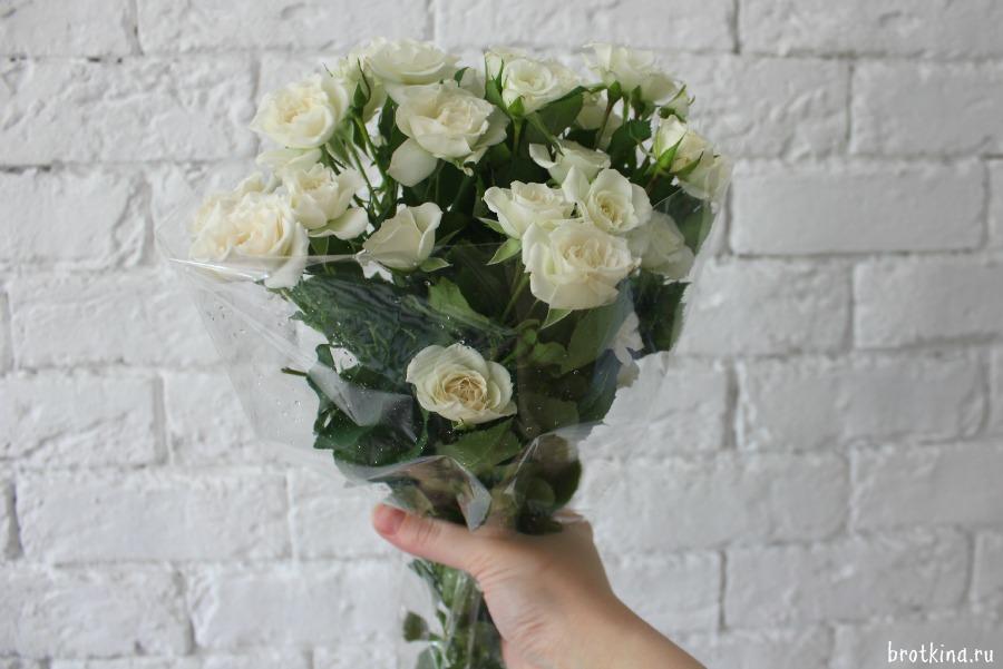 Цветы в подарок, отличное настроение, первый день лета